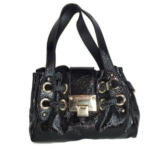 Jimmy Choo Small Ramona Bag Black Patent Leather